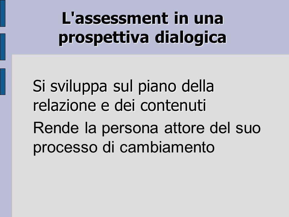 L assessment in una prospettiva dialogica