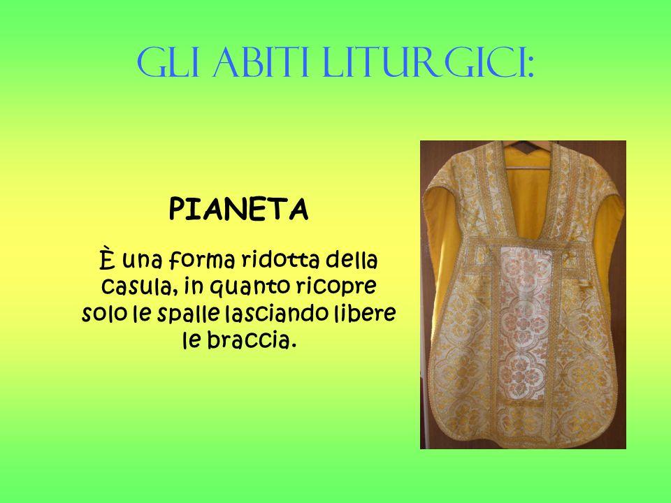 Gli Abiti liturgici: PIANETA