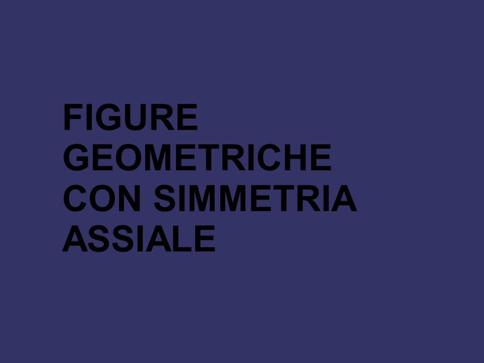 FIGURE GEOMETRICHE CON SIMMETRIA ASSIALE