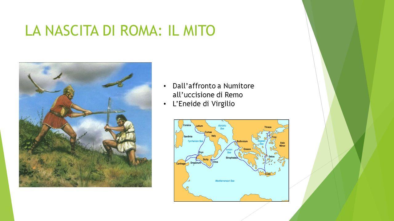 LA NASCITA DI ROMA: IL MITO