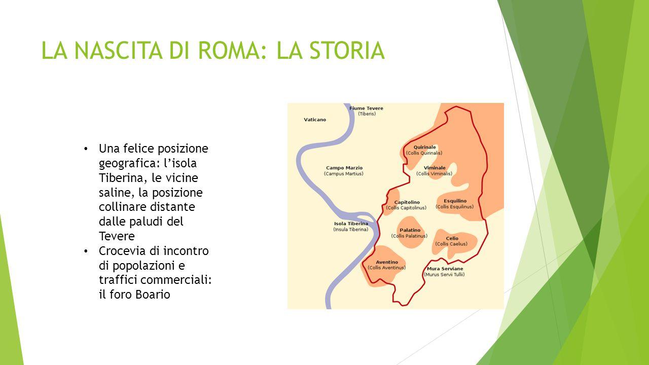 LA NASCITA DI ROMA: LA STORIA
