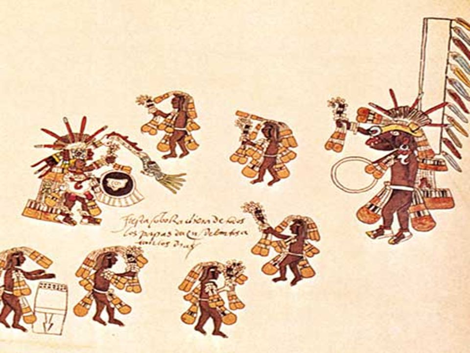 Prima di essere fondato l'impero Azteca, c'era una mentalitá religiosa proveniente dai Toltecas.