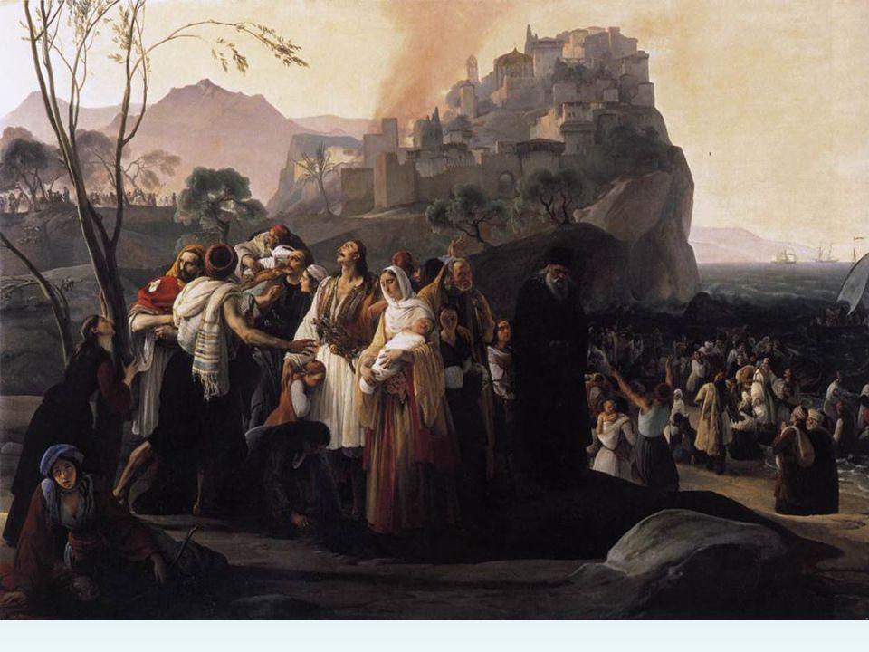 F. Hayez, I profughi di Parga, 1831. 1819