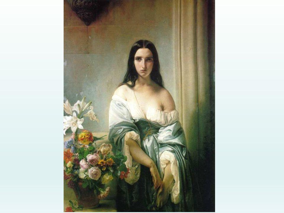 F. Hayez, Melanconia, 1842