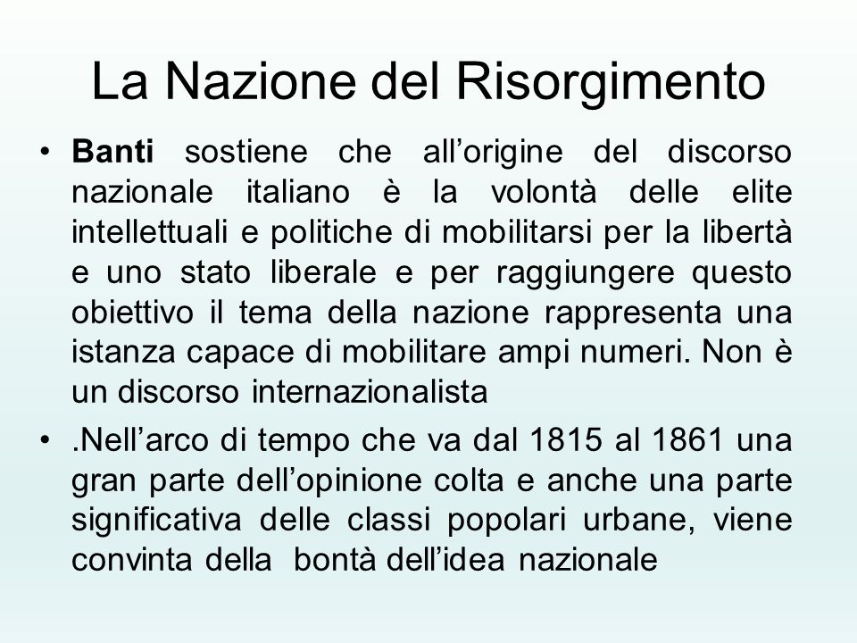 La Nazione del Risorgimento