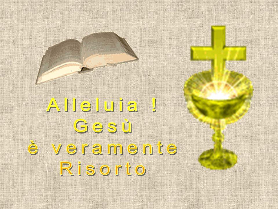 Alleluia ! Gesù è veramente Risorto