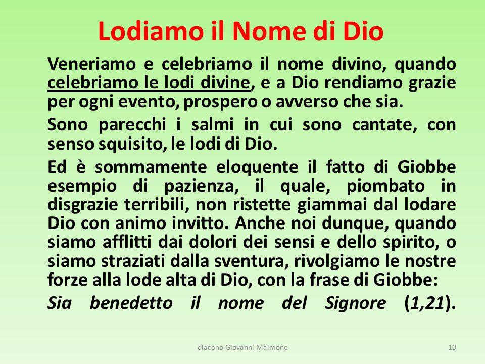 diacono Giovanni Maimone