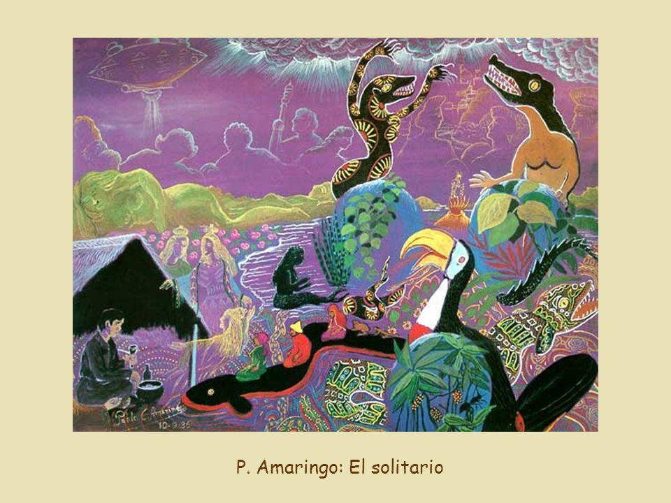 P. Amaringo: El solitario