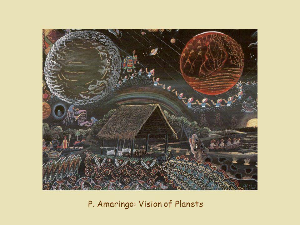 P. Amaringo: Vision of Planets