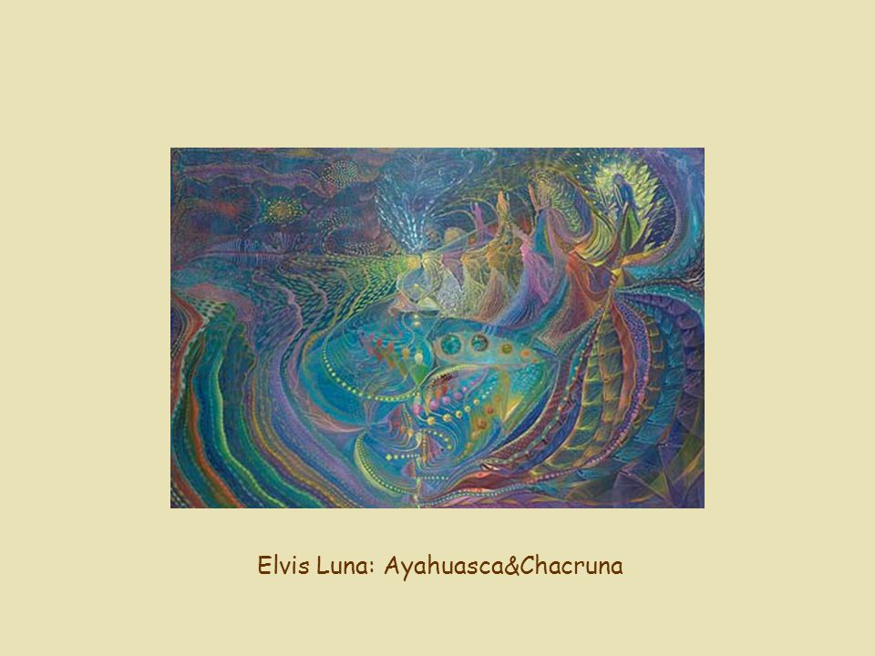 Elvis Luna: Ayahuasca&Chacruna