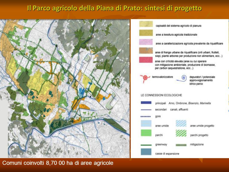 Il Parco agricolo della Piana di Prato: sintesi di progetto