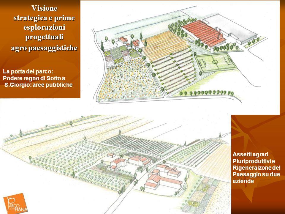 Visione strategica e prime esplorazioni progettuali agro paesaggistiche