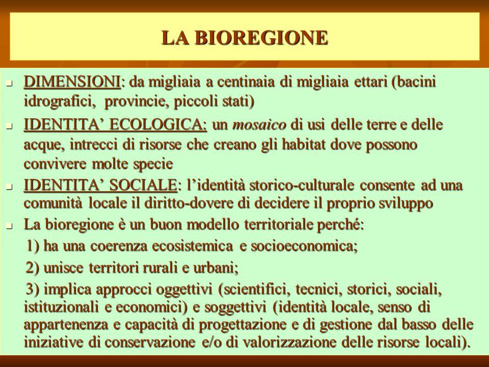 Risultati immagini per Il progetto della Bioregione