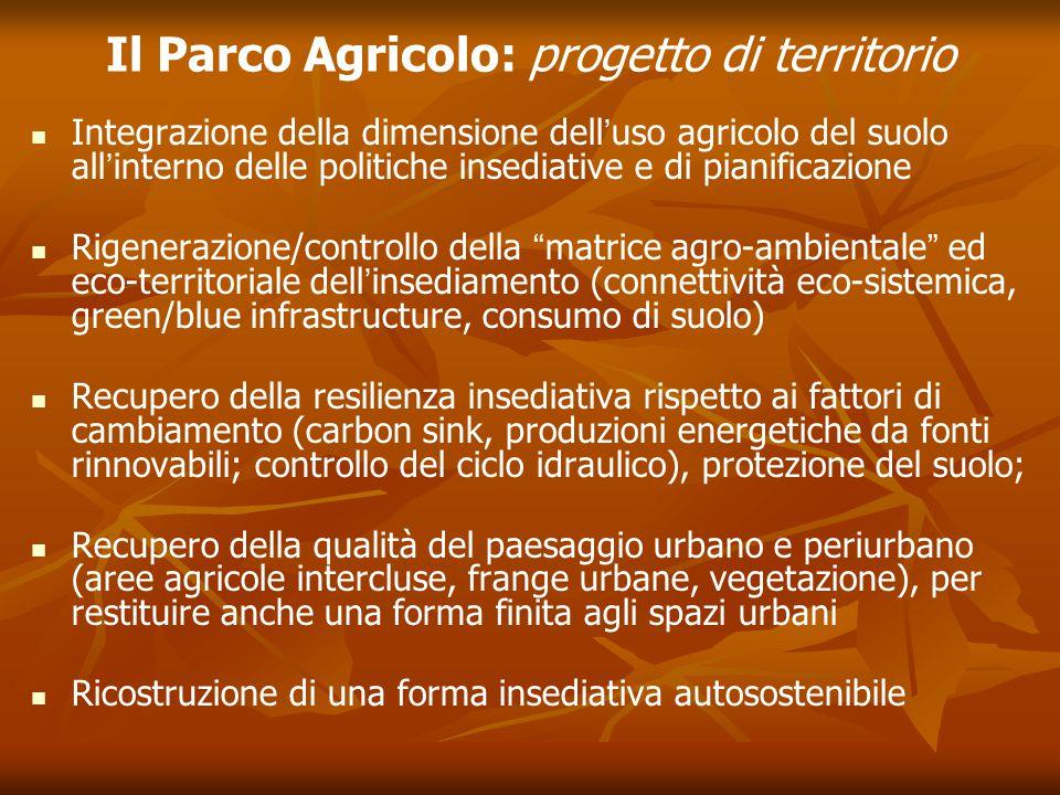 Il Parco Agricolo: progetto di territorio
