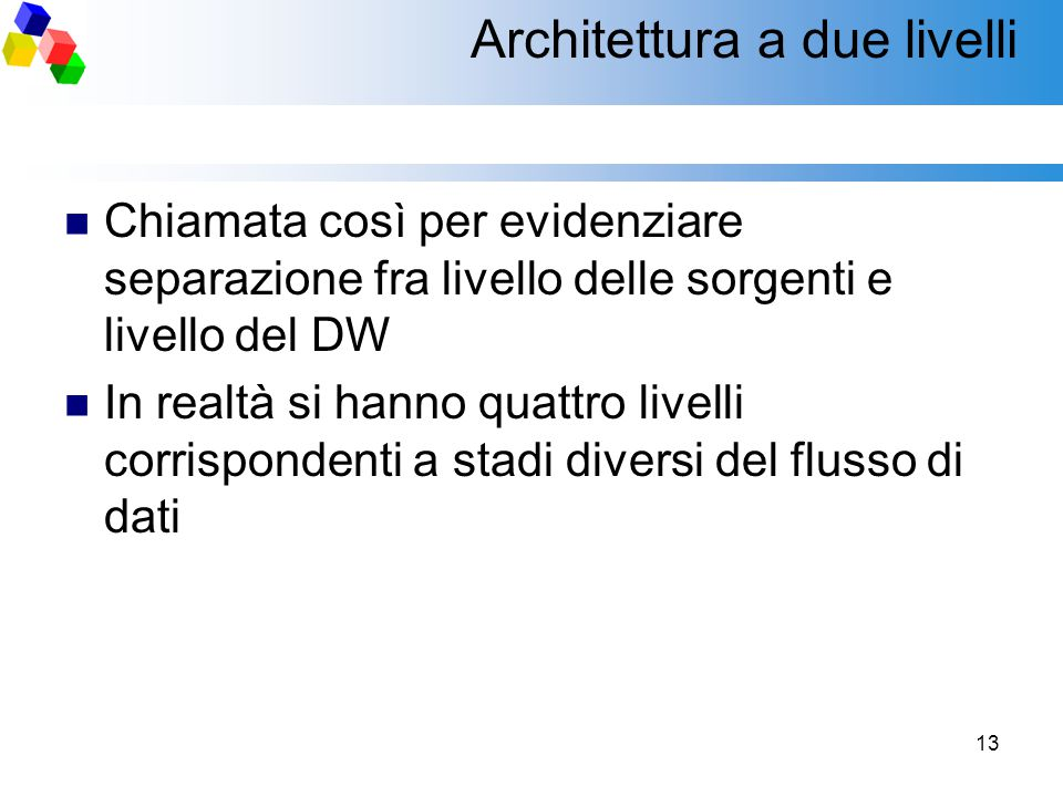 Architettura a due livelli