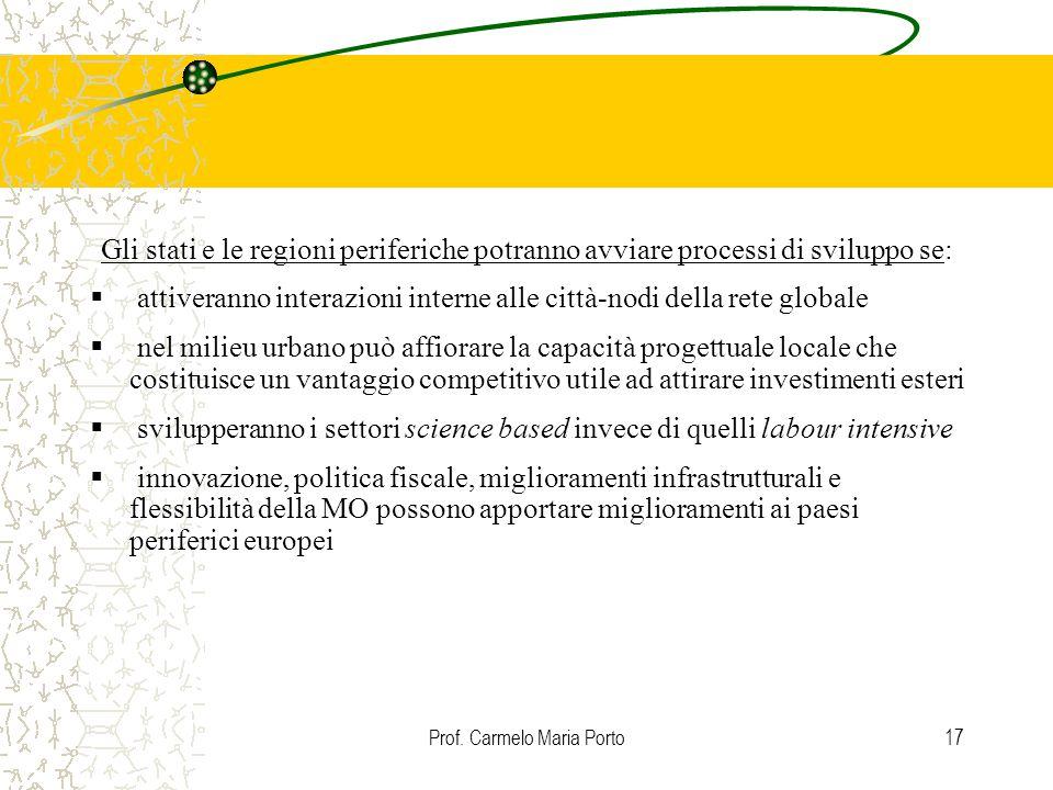 Prof. Carmelo Maria Porto