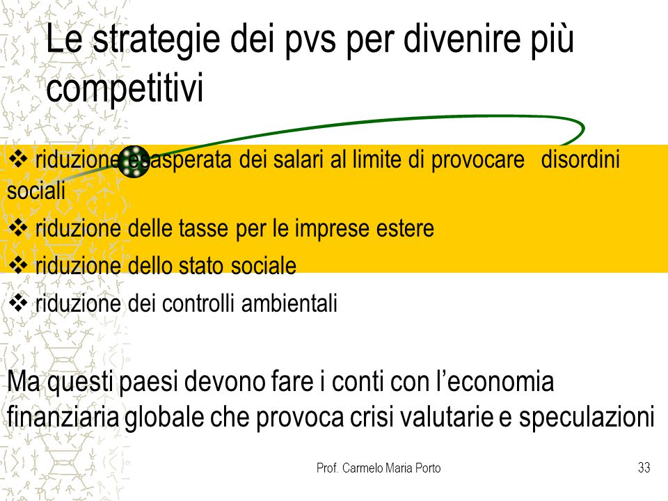 Le strategie dei pvs per divenire più competitivi
