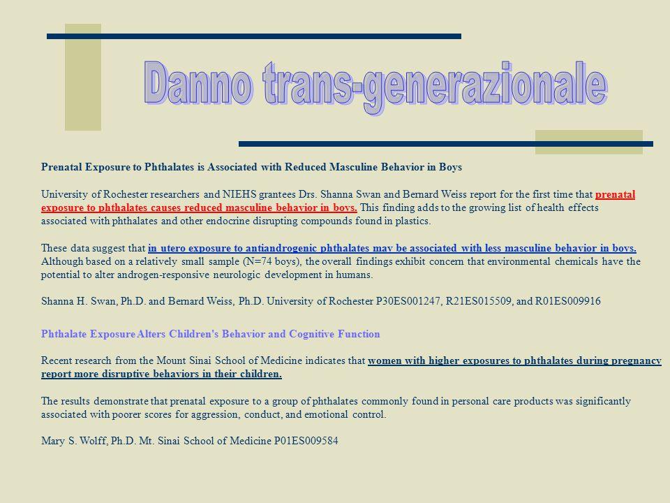 Danno trans-generazionale