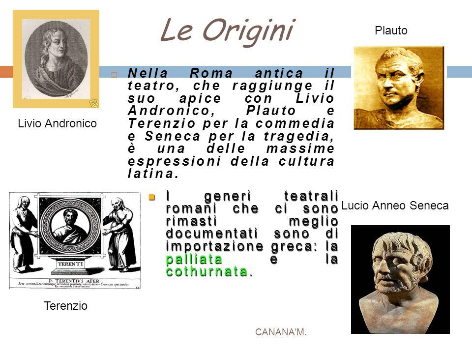 Le Origini Plauto.