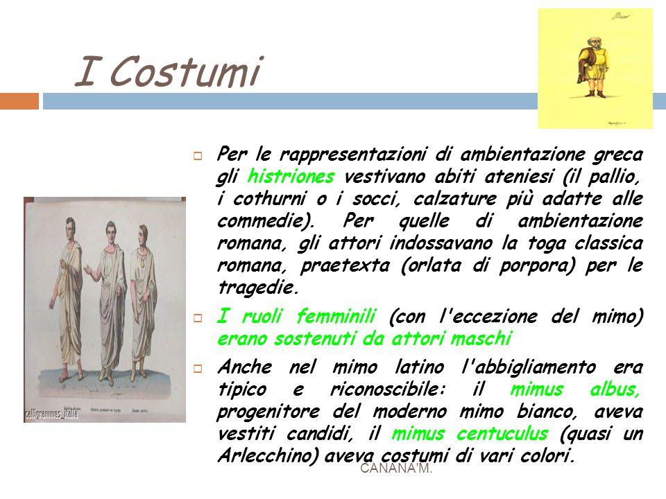 I Costumi