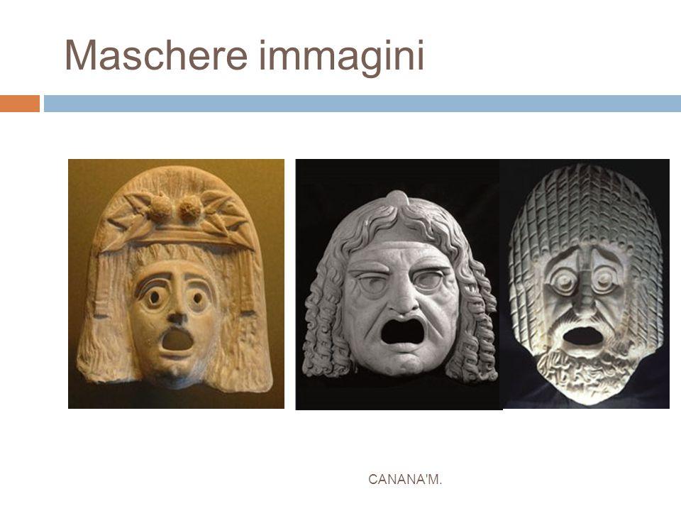 Maschere immagini CANANA M.