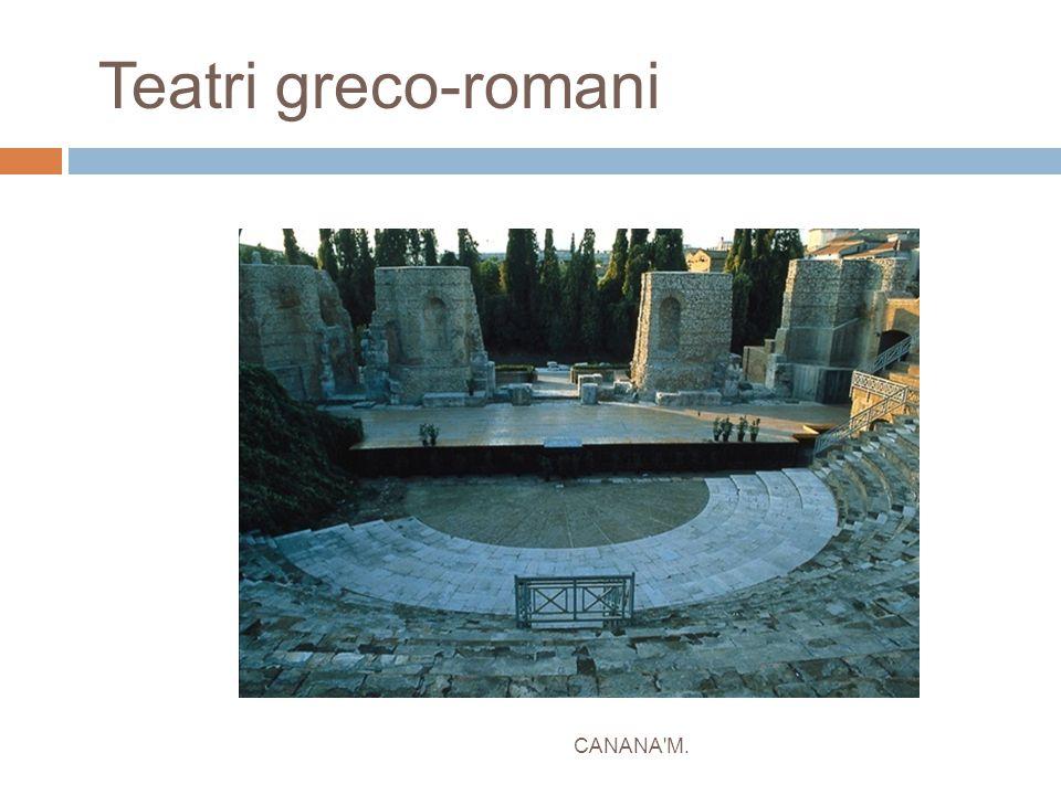 Teatri greco-romani CANANA M.