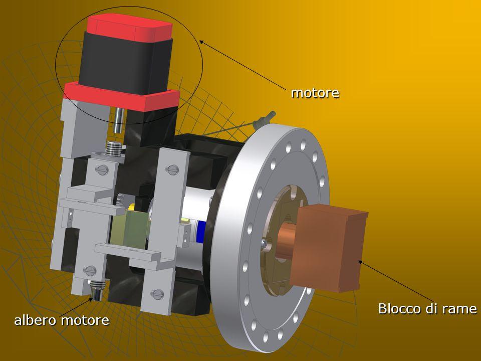 motore Blocco di rame albero motore