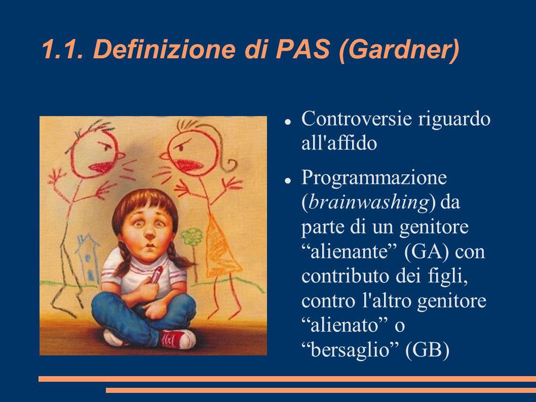 1.1. Definizione di PAS (Gardner)