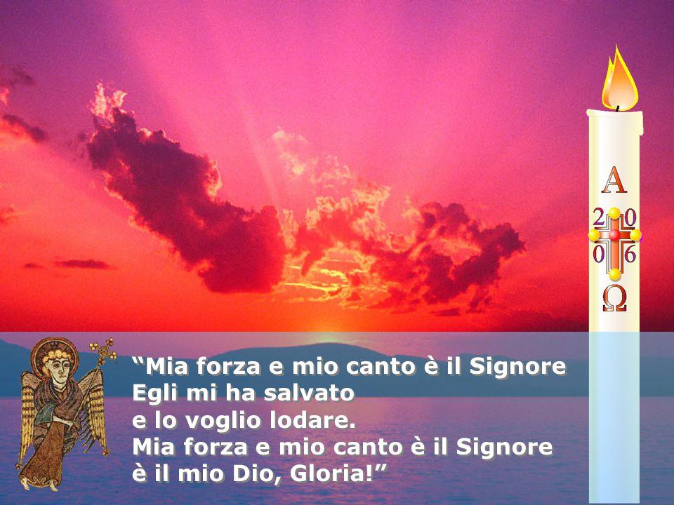 Mia forza e mio canto è il Signore