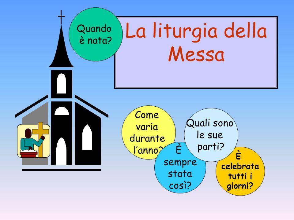 La liturgia della Messa