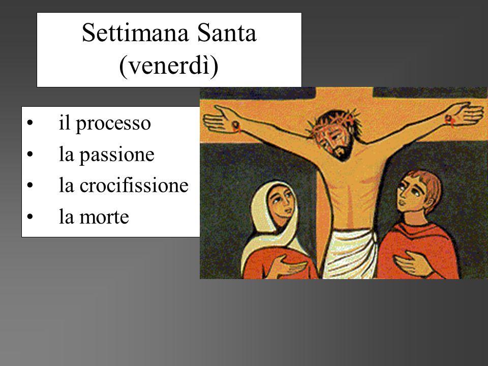 Settimana Santa (venerdì)