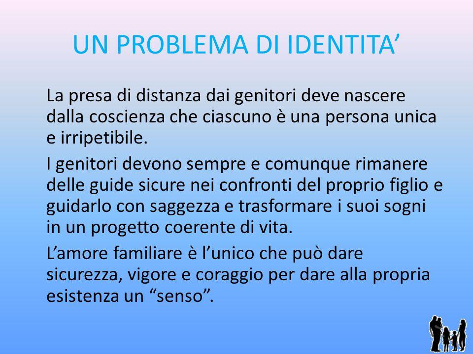 UN PROBLEMA DI IDENTITA'