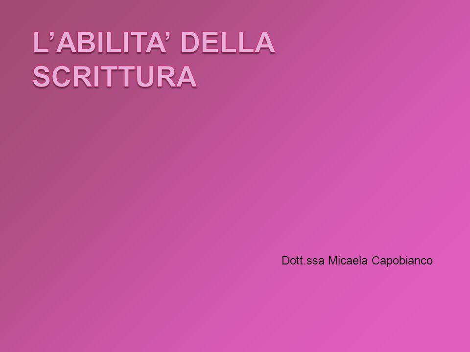 Dott.ssa Micaela Capobianco