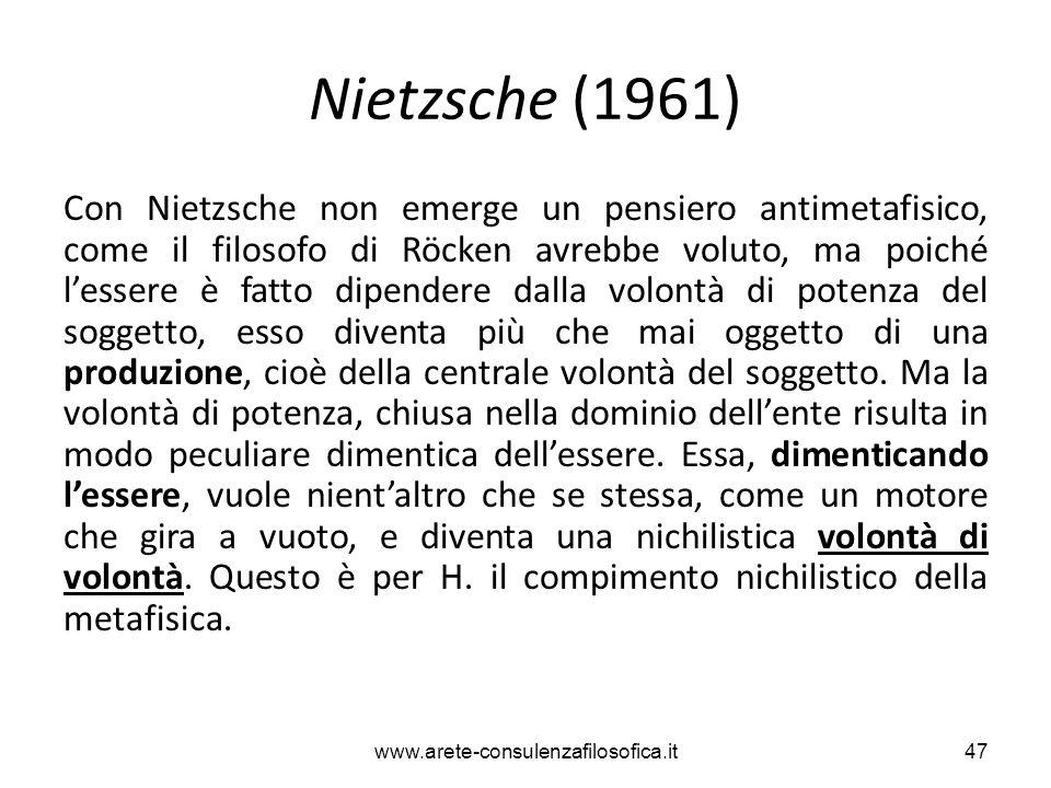 Nietzsche (1961)