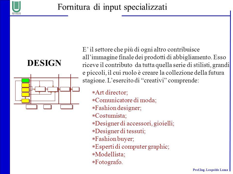 Fornitura di input specializzati