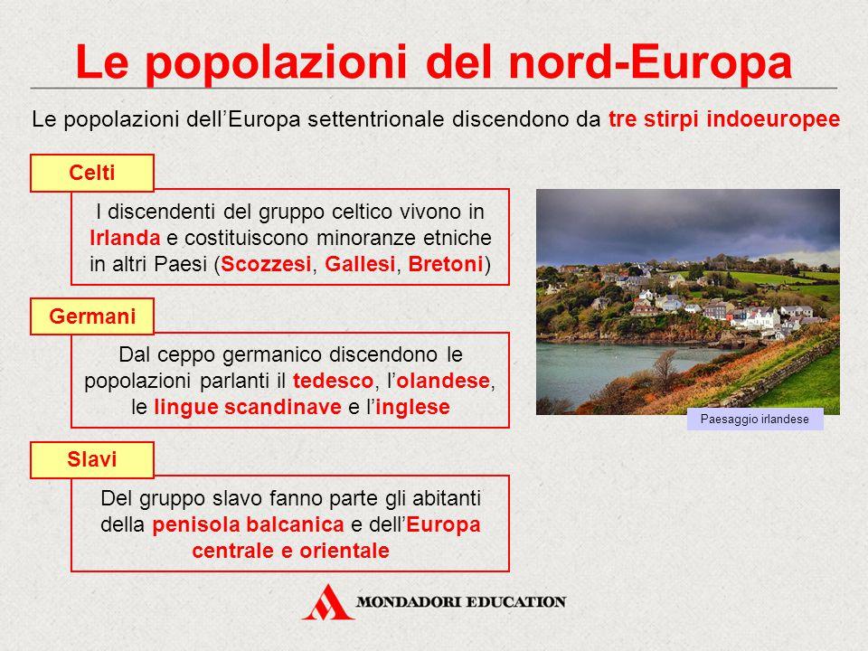 Le popolazioni del nord-Europa