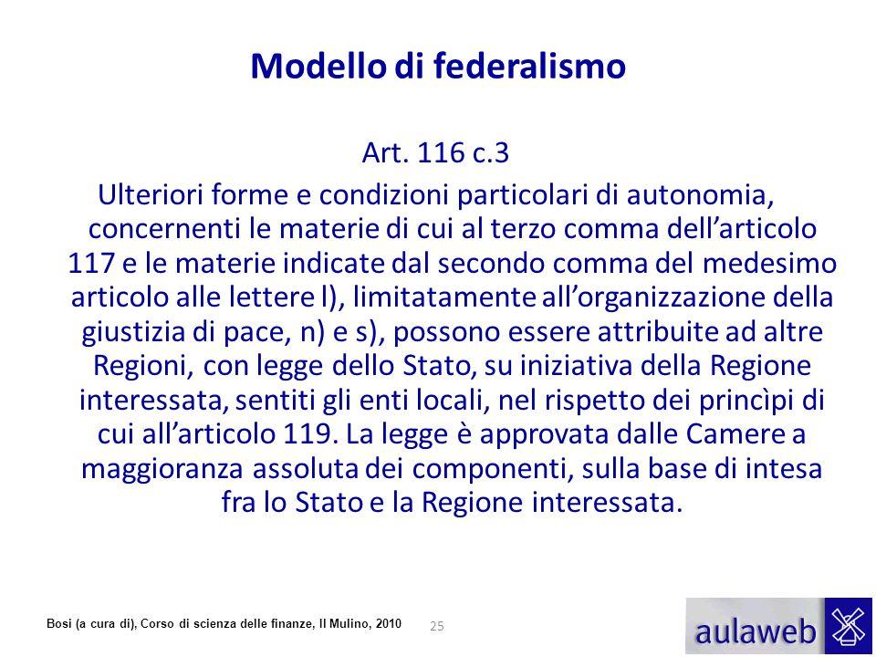 Modello di federalismo