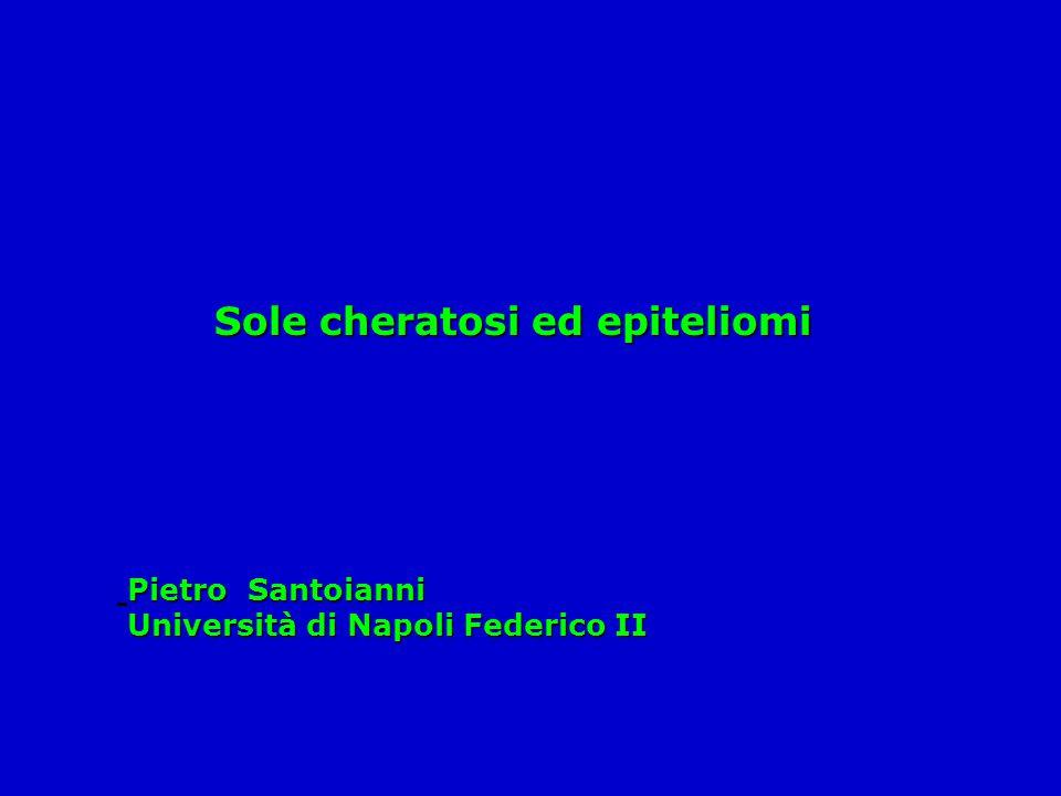 Sole cheratosi ed epiteliomi