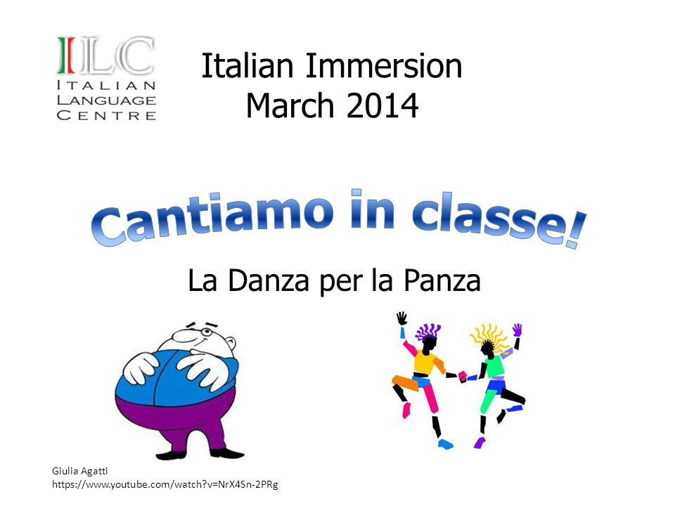 Italian Immersion March 2014
