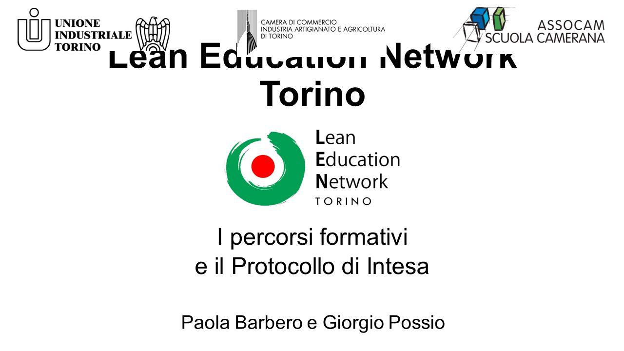 Lean Education Network Torino