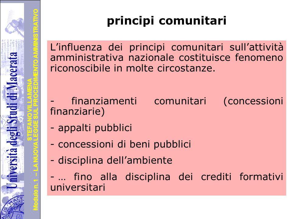 principi comunitari