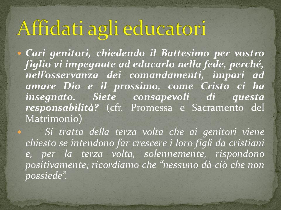 Affidati agli educatori