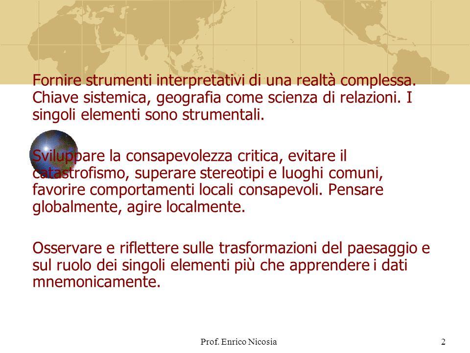 Fornire strumenti interpretativi di una realtà complessa