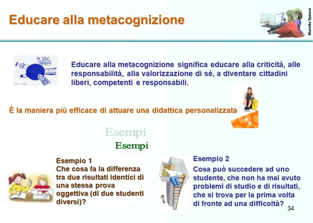 Educare alla metacognizione