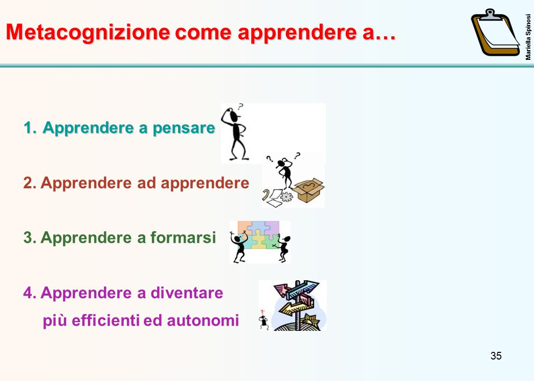Metacognizione come apprendere a…