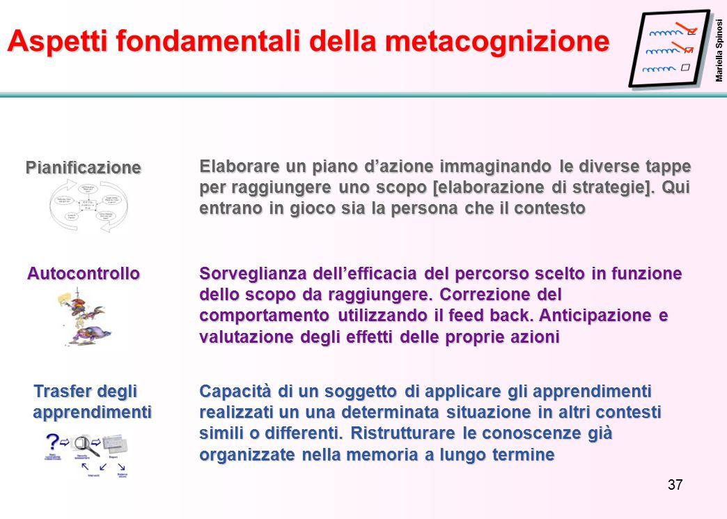 Aspetti fondamentali della metacognizione