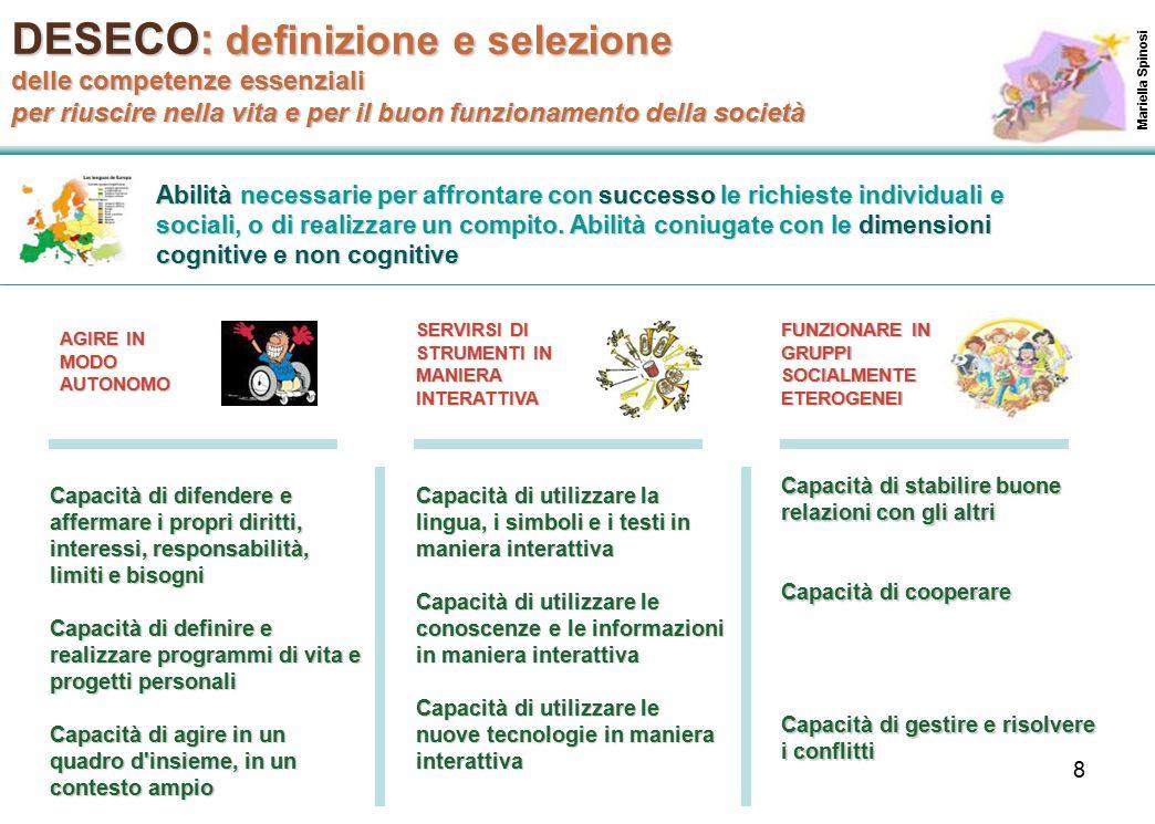 DESECO: definizione e selezione