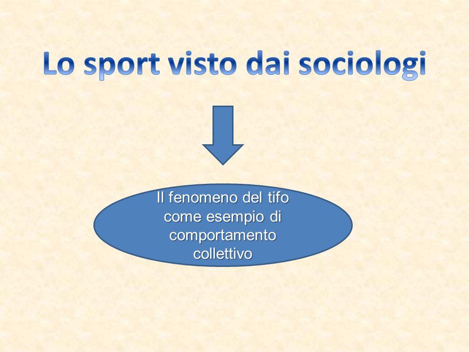 Lo sport visto dai sociologi