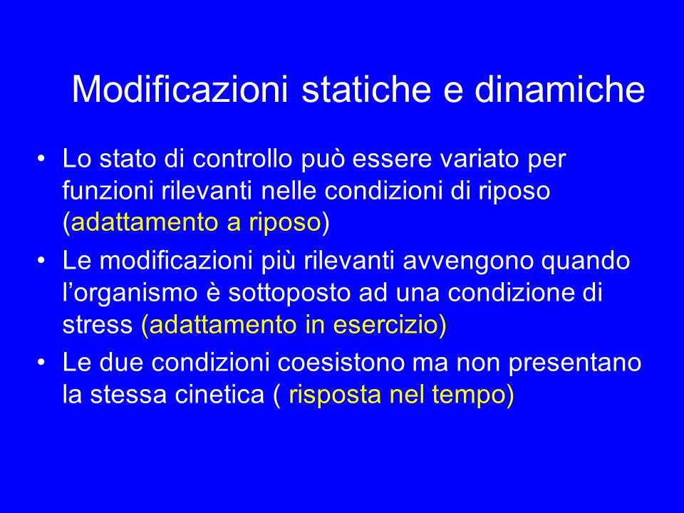 Modificazioni statiche e dinamiche