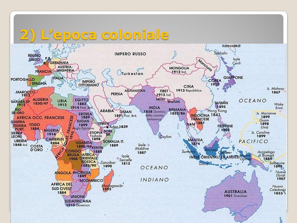 2) L'epoca coloniale